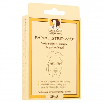 Hanne Bang Facial Strip Wax 16 st