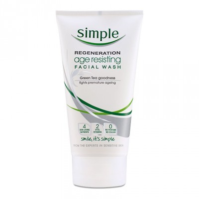 Simple Regeneration Age Resisting Facial Wash 150 ml
