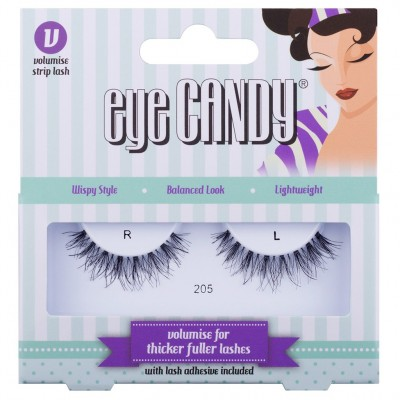 Eye Candy Volumise False Eyelashes 205 1 pari