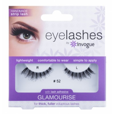 Invogue Eyelashes Glamourise 52 1 par