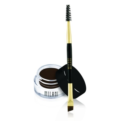Milani Stay Put Brow Color 08 Dark Chocolate 2,6 g + 1 pcs