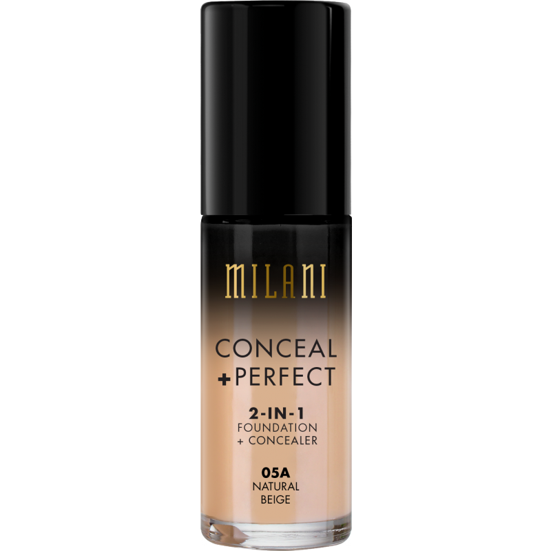 Milani Conceal Perfect 2in1 Foundation Concealer 05a