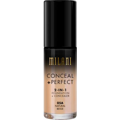 Milani Conceal + Perfect 2in1 Foundation + Concealer 05A Natural Beige 30 ml