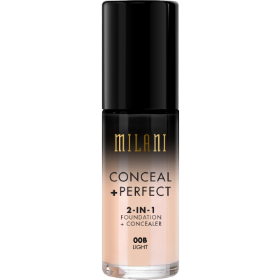 Milani Conceal + Perfect 2in1 Foundation + Concealer 00B Light 30 ml
