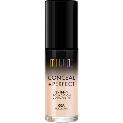 Milani Conceal + Perfect 2in1 Foundation + Concealer 00A Porcelain 30 ml