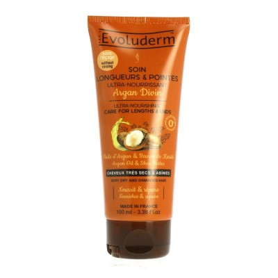 Evoluderm Argan Oil & Shea Leave-In Treatment 100 ml