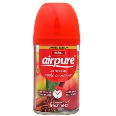 Airpure Air-O-Matic Refill Apple Cinnamon 250 ml