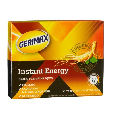 Gerimax Instant Energy 30 stk