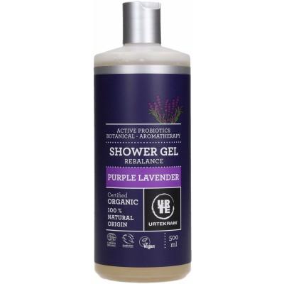 Urtekram Purple Lavender Shower Gel 500 ml