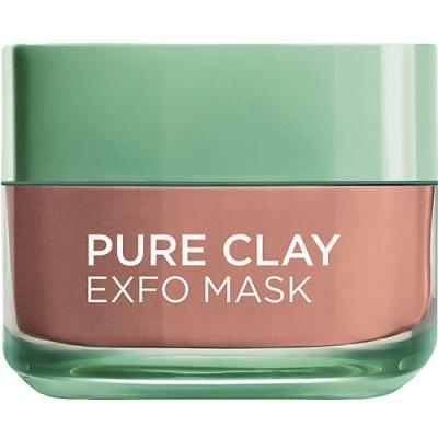 L'Oreal Pure Clay Exfoliate Mask 50 ml