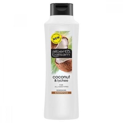 Alberto Balsam Coconut & Lychee Shampoo 350 ml