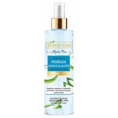 Bielenda Hydra Care Coconut & Aloe Vera Face & Body Mist 200 ml