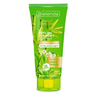 Bielenda Smoothing Bamboo & Green Tea Body Scrub 200 g