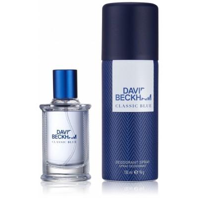 David Beckham Classic Blue EDT & Deospray 40 ml + 150 ml