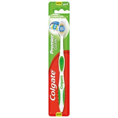 Colgate Premier Clean Toothbrush Medium 1 pcs