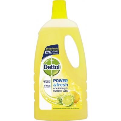 Dettol Multi-Purpose Power & Fresh Cleaner Lemon & Lime 1000 ml
