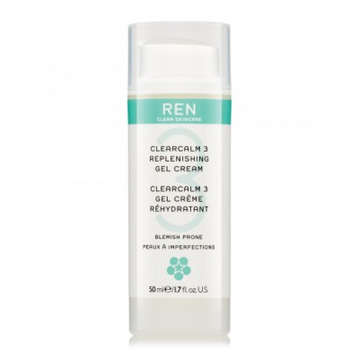 REN Clearcalm 3 Repleneshing Gel Cream 50 ml