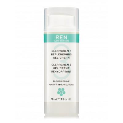 REN Clearcalm 3 Repleneshing Gel Cream 50 ml