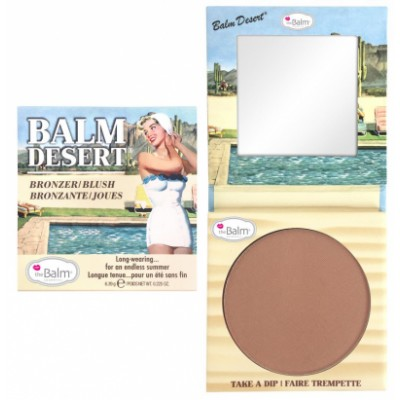 The Balm Balm Desert Bronzer & Blush 6,39 g