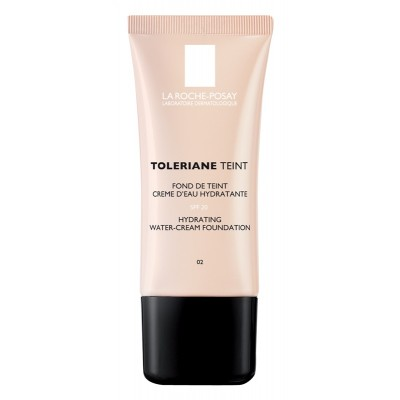 La Roche-Posay Toleriane Teint Hydrating Cream Foundation 02 Light Beige 30 ml