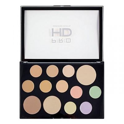 Revolution Makeup Pro HD The Works Concealer Palette Light Medium 1 kpl