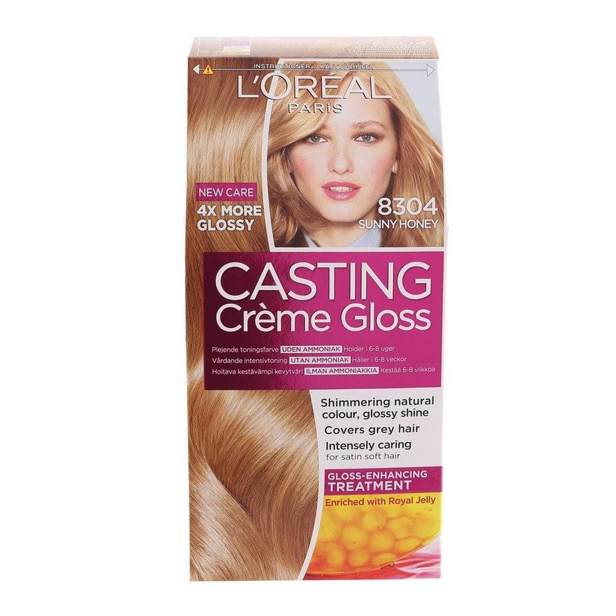 loreal hårfärg toning