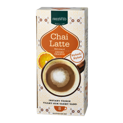 Fredsted Chai Latte Choco Orange 208 g