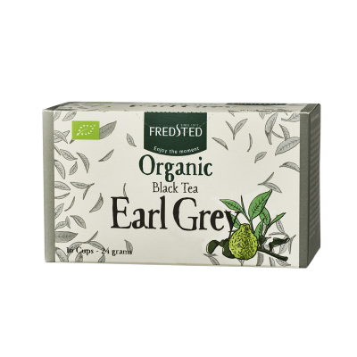 Fredsted Fredsted Organic Black Tea Earl Grey 16 pussia 16 pussia