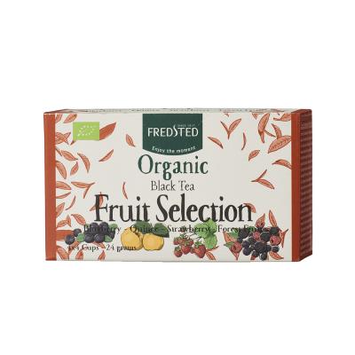 Fredsted Organic Black Tea Fruit Selection 16 sachets