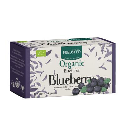 Fredsted Organic Black Tea Blueberry 16 breve