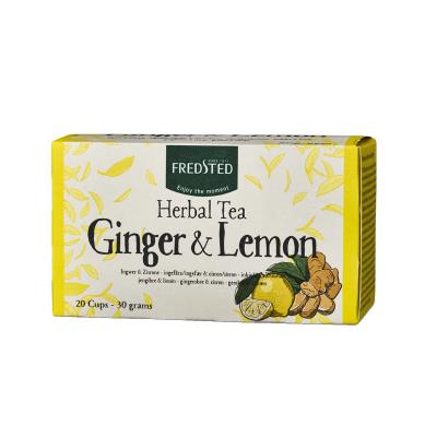 Fredsted Herbal Tea Ginger & Lemon 20 påsar