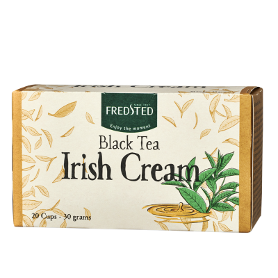Fredsted Black Tea Irish Cream 20 påsar