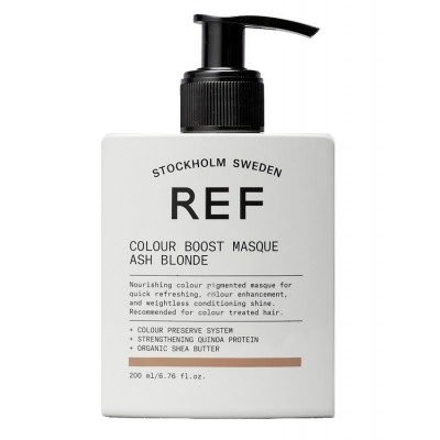 REF Colour Boost Masque Ash Blonde 200 ml