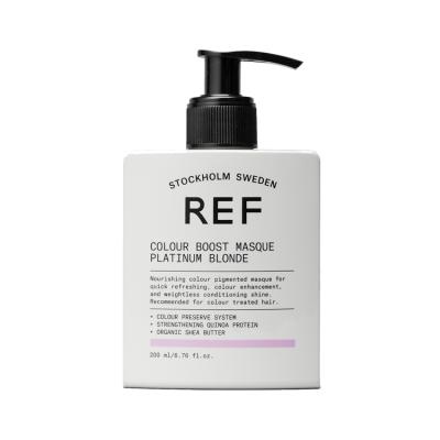 REF Colour Boost Masque Platinum Blonde 200 ml