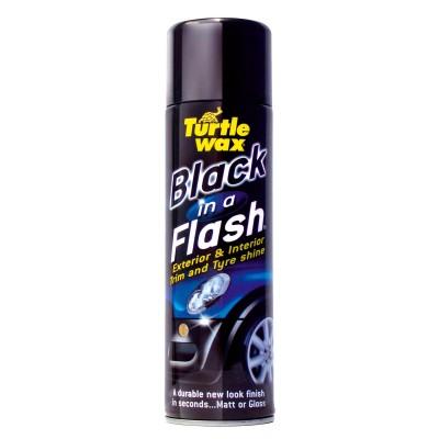 Turtle Wax Black In A Flash Shining Wax 500 ml