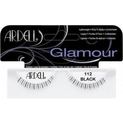 Ardell Glamour Strip Lashes 112 Black 1 par