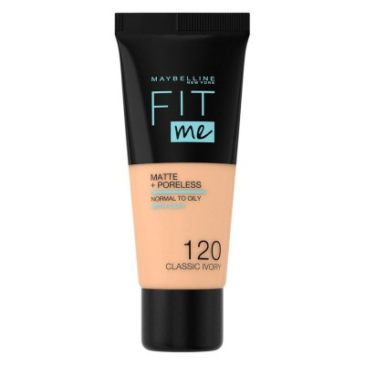 Maybelline Fit Me Matte & Poreless Foundation 120 Classic Ivory 30 ml