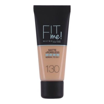 Maybelline Fit Me Matte & Poreless Foundation 130 Buff Beige 30 ml