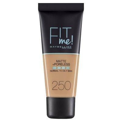 Maybelline Fit Me Matte & Poreless Foundation 250 Sun Beige 30 ml