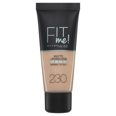 Maybelline Fit Me Matte & Poreless Foundation 230 Natural Buff 30 ml