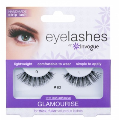 Invogue Eyelashes Glamourise 62 1 par