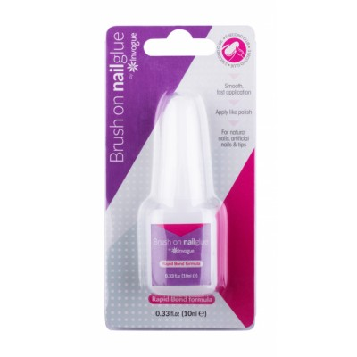 Invogue Brush On Nail Glue 10 ml