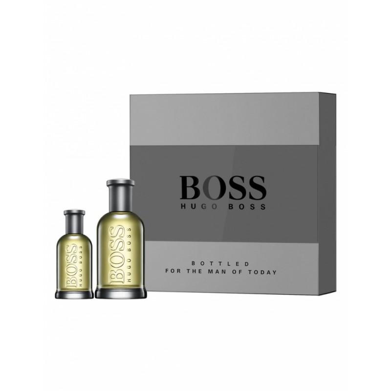 hugo boss boss bottled edt set 100 ml 30 ml kr. Black Bedroom Furniture Sets. Home Design Ideas