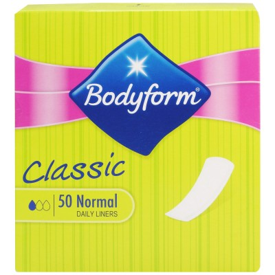 Bodyform Classic Daily Liners Normal 50 st