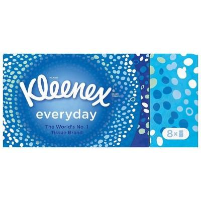 Kleenex Everyday Pocket Tissues 8 pakkaus 72 kpl