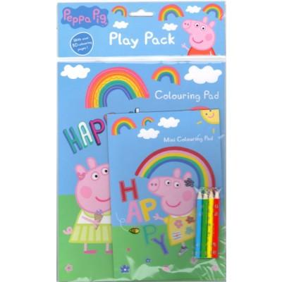 Peppa Pig Play Pack Mini Colouring Pad 1 pack