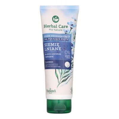 Herbal Care Flaxseed Regenerating Foot Cream 100 ml