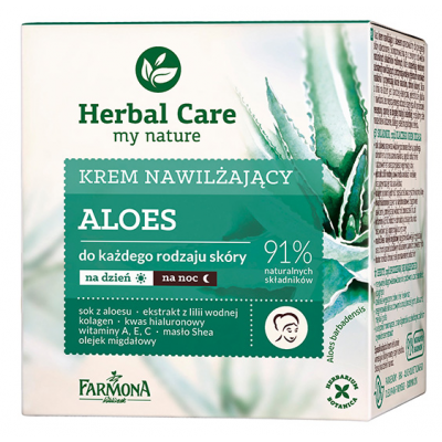 Herbal Care Aloe Moisturizing Cream 50 ml