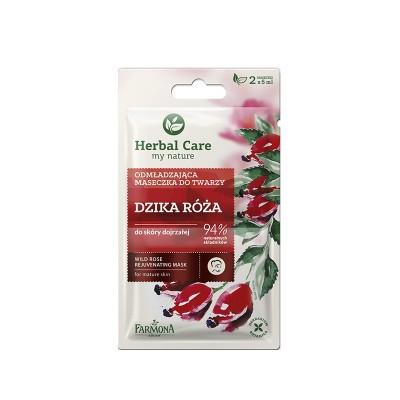 Herbal Care Wild Rose Rejuvenating Mask 2 x 5 ml