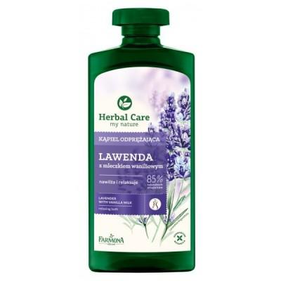 Herbal Care Lavender & Vanilla Milk Shower Gel 500 ml
